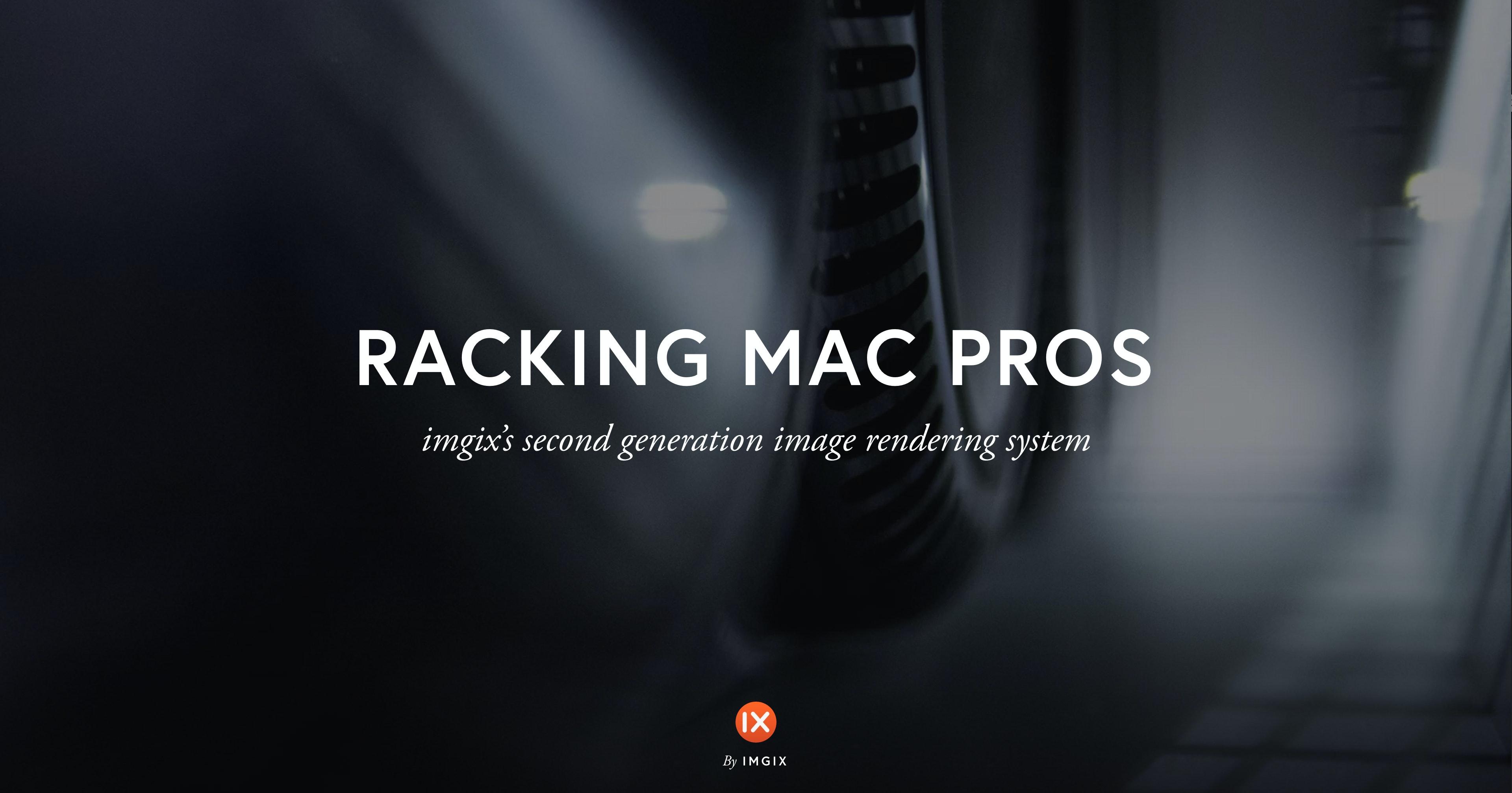 Racking Mac Pros